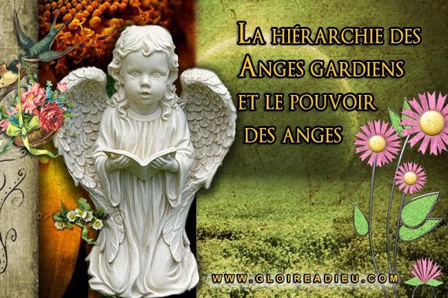 hiérarchie des Anges gardiens et le pouvoir des anges sur Gloireadieu.com