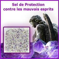 Sel de protection contre les mauvais esprits