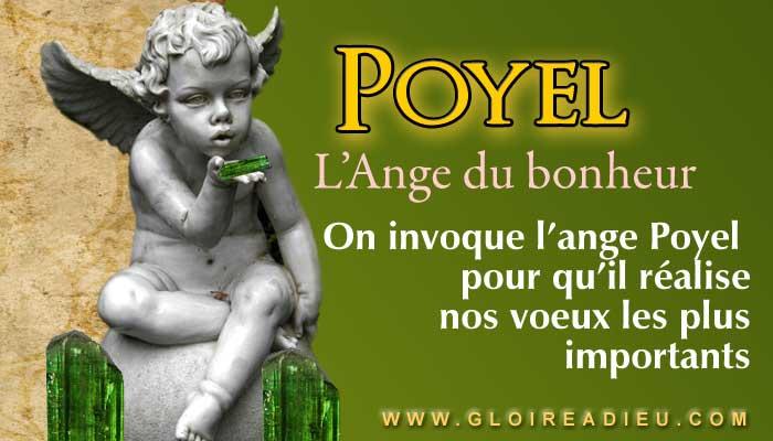 Prier l'ange Poyel pour réaliser les voeux les plus importants