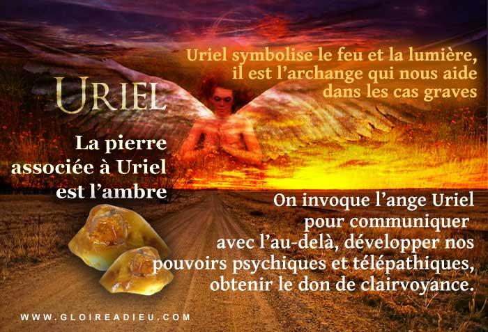 Prier l'ange Uriel pour obtenir de l'aide dans les cas graves