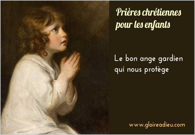 prier le bon ange gardien qui nous protège