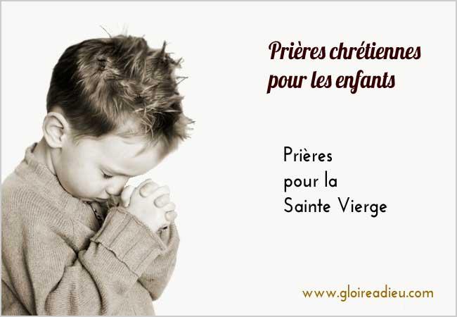 Populaire Prières chrétiennes pour les enfants – Gloire à Dieu JC03