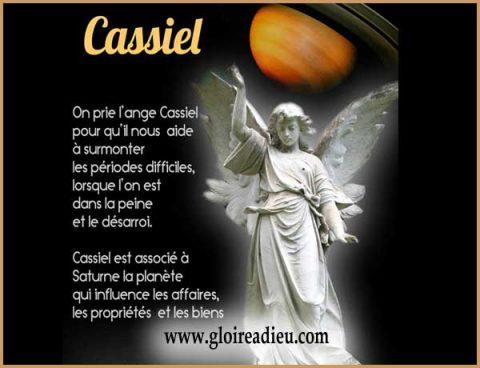 Priere à l'archange Cassiel quand on doit affronter des difficultés