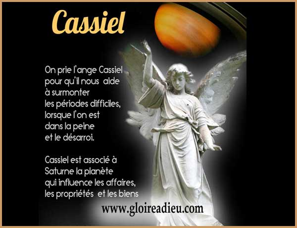 priere archange cassiel invocation