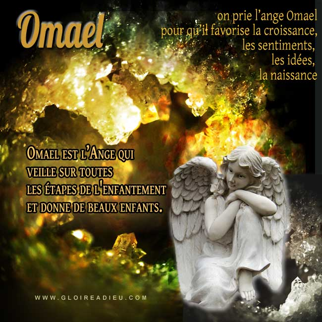 Omael est l'ange à prier pour avoir un enfant