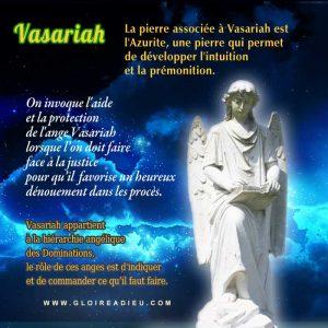 Prier l'ange Vasariah pour obtenir la justice