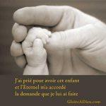 Prières pour le couple qui désire avoir un enfant