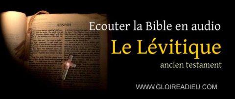 Ancien testament audio – 3 – écouter le livre du Lévitique en audio mp3