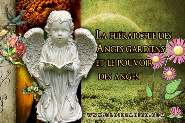 La hiérarchie des Anges et leurs pierres précieuses de protection