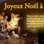 Prière et célébration de Noël, la nuit de la nativité, naissance de Jesus Christ  fils de Dieu