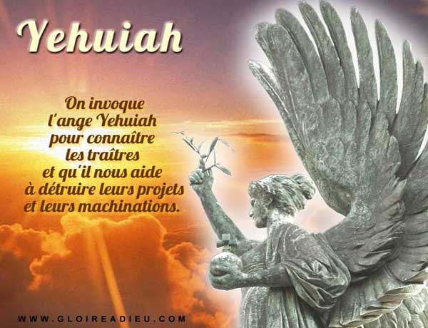 Prier l'ange Yehuiah pour connaître les traîtres