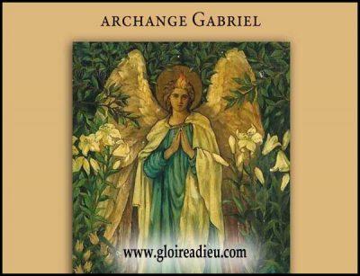 Qui est l'archange Gabriel?