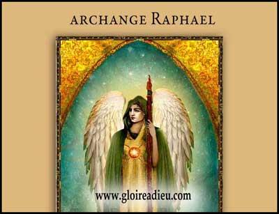 prier archange Raphaël protection guérison