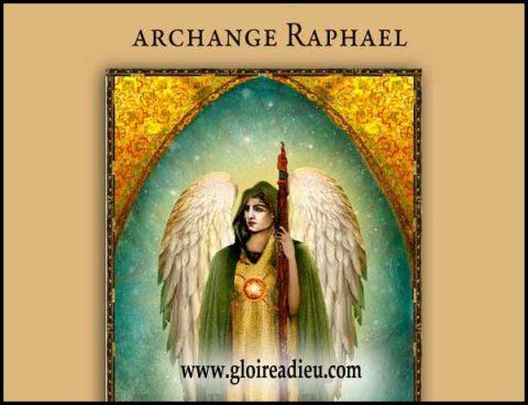 prier archange Raphaël pour obtenir la guérison des humains et des animaux