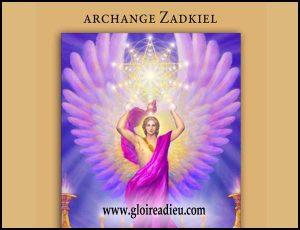Faites appel à l'archange Zadkiel pour guérir les blessures émotionnelles et apporter le réconfort à ceux qui souffrent de souvenirs douloureux