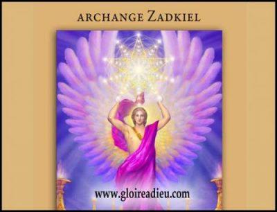 flamme violette archange zadkiel