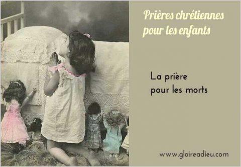La prière pour les morts expliquée aux enfants