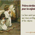 Le bon saint patron qui nous protège, les vêpres