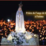 Prière de l'ange de la paix à Fatima