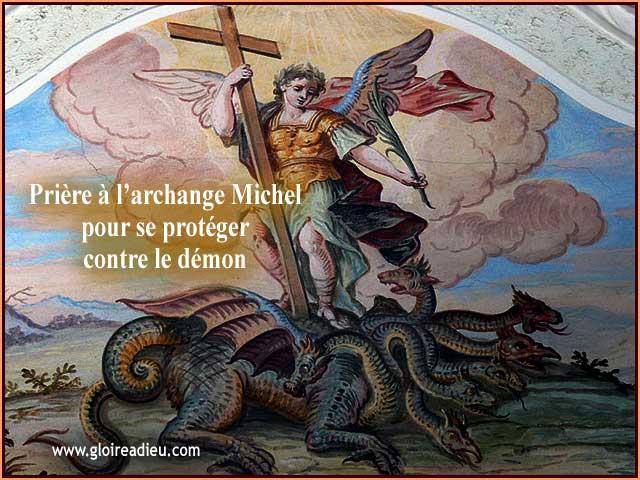 Priére à l'archange Michel pour se protéger du démon