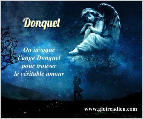 Donquel, l'ange à prier pour trouver le véritable amour