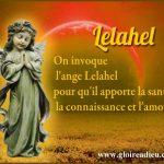 prier ange lelahel pour guérir