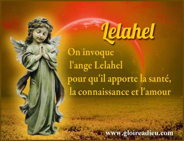 Prières à Lelahel ange de la guérison pour qu'il apporte la santé aux malades