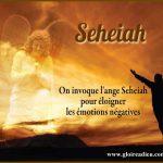 'ange Seheiah pour éloigner les émotions négatives