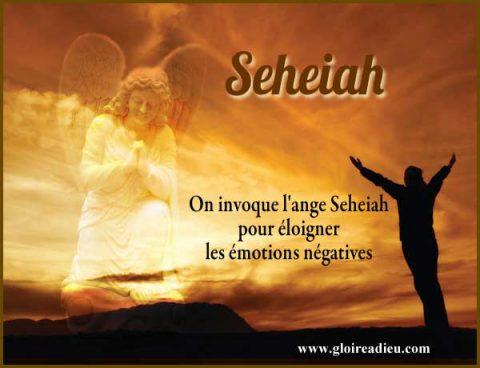 Seheiah l'ange de la médecine et de la guérison