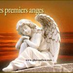 premières apparitions des anges