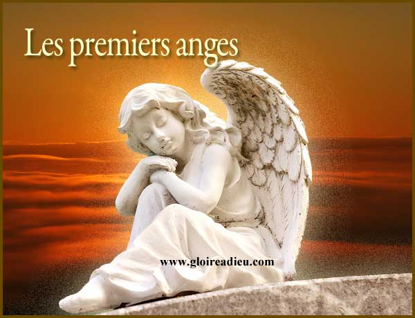 Les premières apparitions des anges