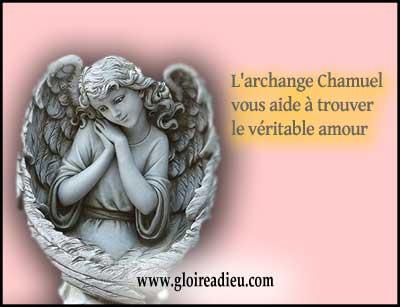 Prier archange Chamuel pour trouver l'âme sœur et guérir une relation en difficulté