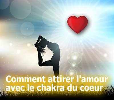 comment attirer l'amour avec le chakra du coeur