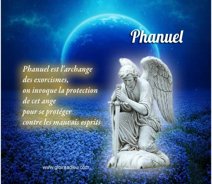 phanuel protection mauvais esprits