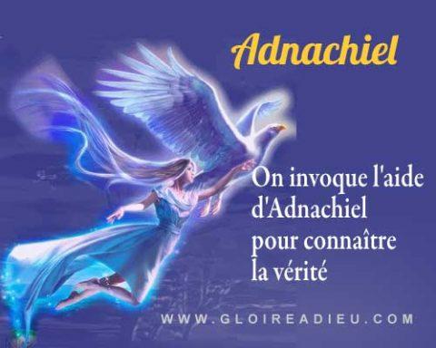 Adnachiel l'ange à invoquer pour connaître la vérité