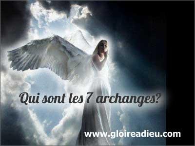 Qui sont les 7 archanges ? comment s'appellent les archanges?