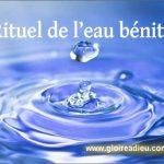 Comment faire son eau bénite