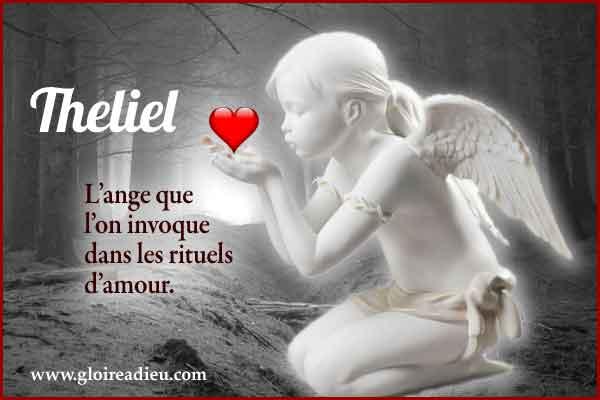 Theliel est l'ange de l'amour à invoquer pour attirer les relations amoureuses