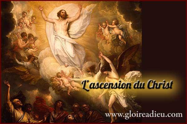 Fête de l'ascension du Christ, une des plus importantes fêtes chrétiennes célébrée le 10 Mai 2018