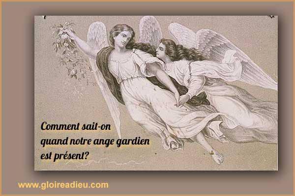 Comment savoir si notre ange gardien est présent?
