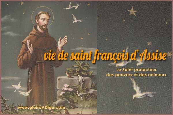 vie de saint francois d'assise