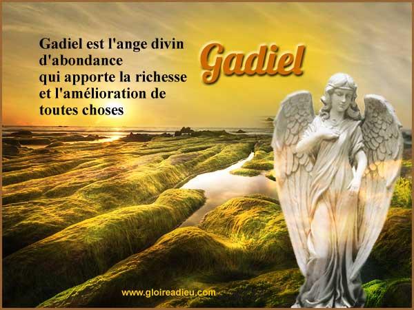 Gadiel l'ange de l'abondance à prier pour attirer l'argent