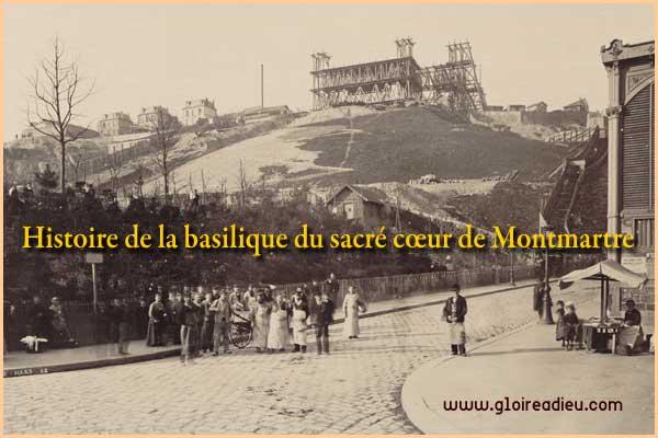 Histoire de la basilique du sacré cœur de Montmartre à Paris