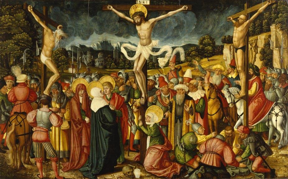 Jésus Christ a-t-il été cloué sur la croix?