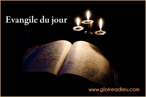 prier évangile au quotidien du 24/01/2021 sur www.gloireadieu.com