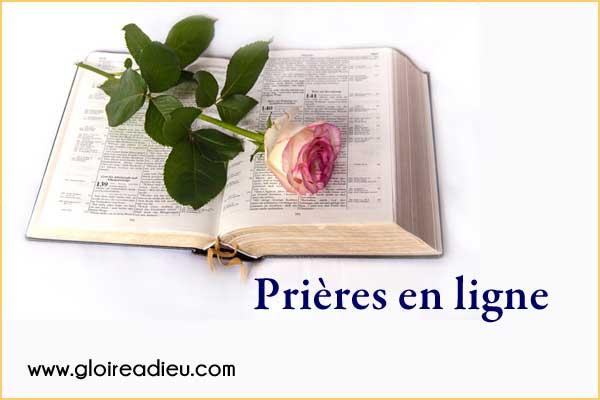 Prière quotidienne  28/02/2020 sur www.gloireadieu.com
