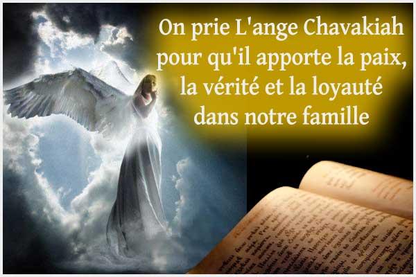 35 – Chavakiah l'ange à prier pour la paix, la vérité et la loyauté dans la famille