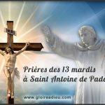 Prières des 13 mardis à Saint Antoine de Padoue