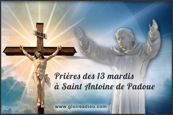 Prières de protection des 13 mardis à Saint Antoine de Padoue