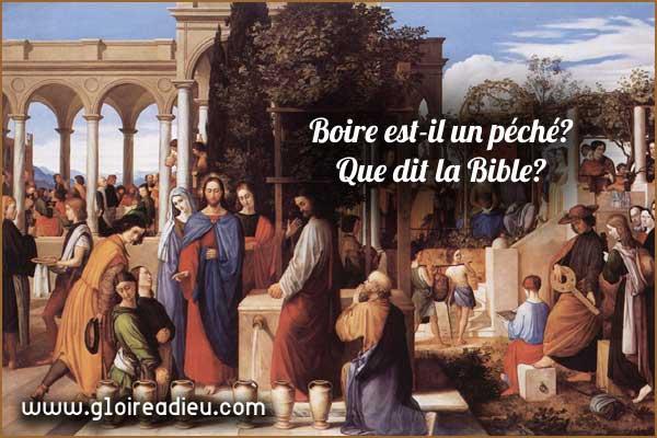 Boire est-il un péché?
